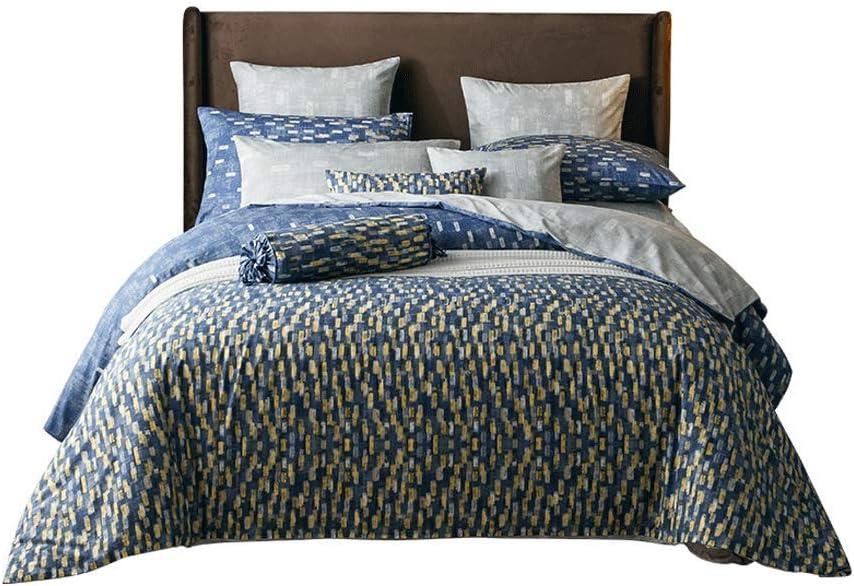BestBed コットン4ピーススーツコットンフラワープラントベッドシーツ掛け布団カバー寝具セット4つの1.5メートル/ 1.8メートルの牧歌的な (Size : 1.8M (6 feet))