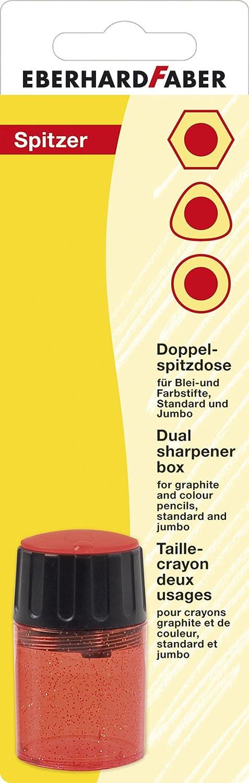 Eberhardt Faber 585197 Round Pencil Sharpener Assorted Colours
