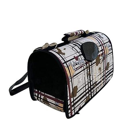 Hianiquaime® Mochila para Perro Portátil y Práctico Mezcla de Colores Portador Mochila Bolso Portabebé Carrier