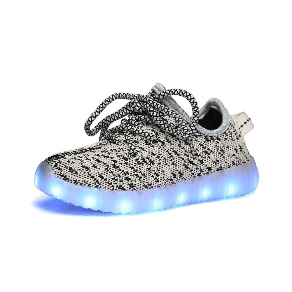 iisport-7 LEDs-Zapatillas de Skate Unisex Para Niños ...