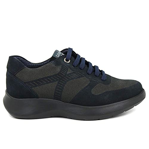 CALLAGHAN Scarpa Uomo Sneakers Basse 16601 Walker Cro Blu  Amazon.it   Scarpe e borse 631ecac968a