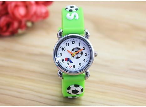Jungen Uhren 3d Cartoon Fussball Geschenke Silikon Fussball