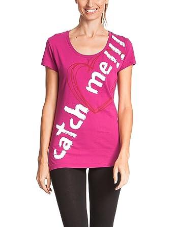 Desigual T-Shirt Nicamo B - Camiseta/Camisa Deportivas para Mujer, Color Morado, Talla L: Amazon.es: Ropa y accesorios