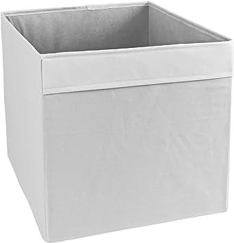 Drona tejido caja de almacenamiento para acelerar de IKEA kallax estantería cajas libros juguetes revista: Amazon.es: Belleza