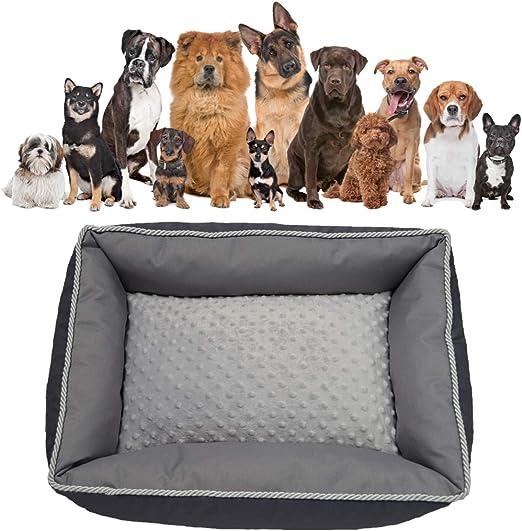 MEL Dog - Cama para Perros, Grafito, Gris, cojín para Perros, Glamour, Cama para Animales domésticos: Amazon.es: Productos para mascotas