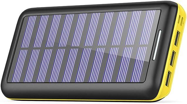 Cargadores Solare Power Bank, BERNET 24000mAh Batería Externa con ...