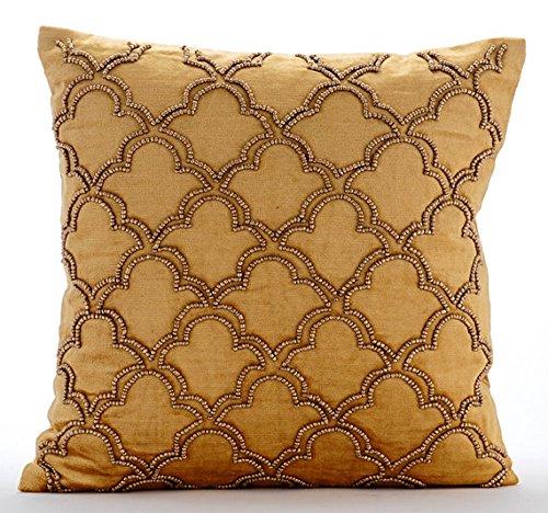 Decorative Pillows With Beading : Beaded Throw Pillows: Amazon.com