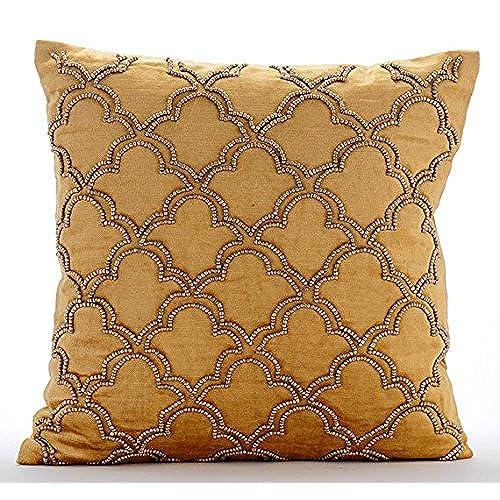 Well known Beaded Throw Pillows: Amazon.com BO77