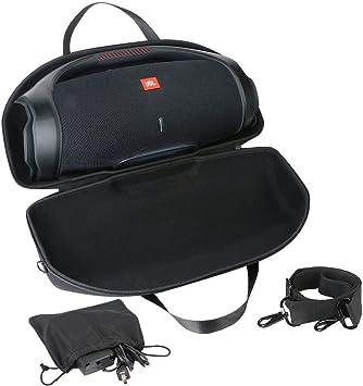 Khanka Duro Viaje Estuche Bolso Funda para JBL Boombox 2 Altavoz inalámbrico portátil.(El Estuche Solo se Adapta a Boombox 2): Amazon.es: Electrónica