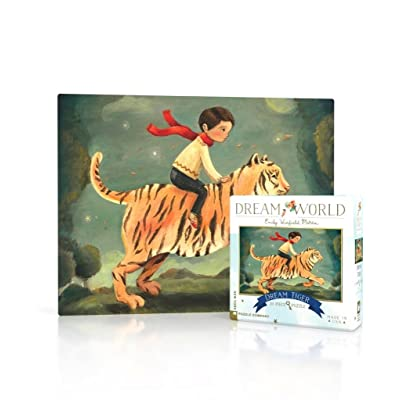 New York Puzzle Company - Dream World Dream Tiger - 20 Piece Jigsaw Puzzle: Toys & Games