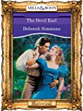 Front cover for the book The Devil Earl by Deborah Simmons