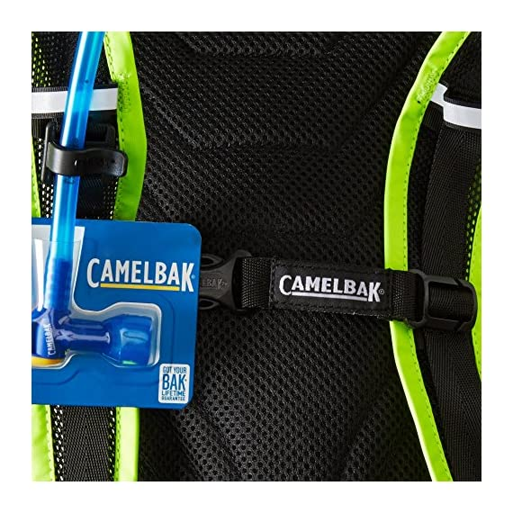 "CamelBak 2016 Classic Hydration Pack 4 Shoulder strap length: 34"" Handle has a drop of 1.75"" and length of 4"" Exterior zipper pocket"