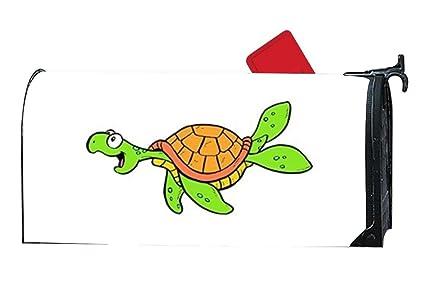 Amazon.com: FunnyLife Unique Mailbox Makeover Hawaiian Sea Turtle ...