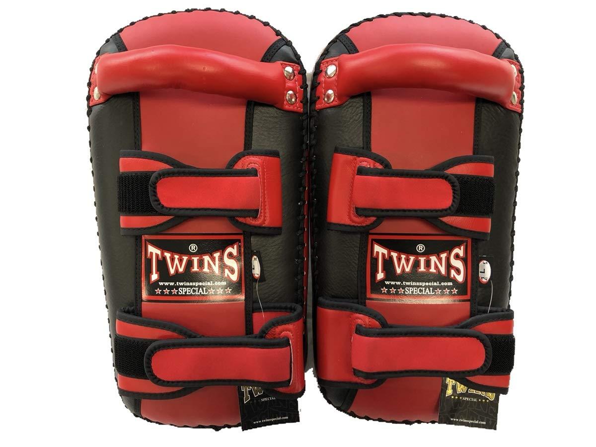 TWINS ツインズ 本革製キックボクシング NEWキックミット Lサイズ B00GHG28VU 黒文字