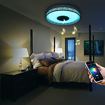 iLifeSmart LED Deckenleuchte Dimmbar Farbwechsel 4160Lumens mit ...