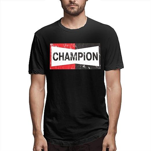 Amazon com: Champion S-pa-rk P-lu-gs Fashion Mens T-Shirt