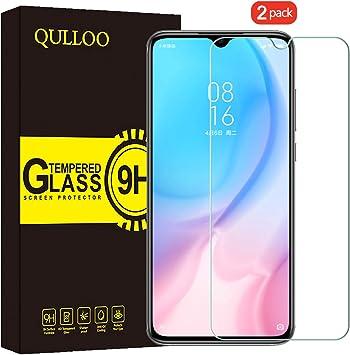 QULLOO Protector de Pantalla Xiaomi Mi 9 Lite, Cristal Templado [9H Dureza][Alta Definición][Fácil de Instalar] para Xiaomi Mi 9 Lite: Amazon.es: Electrónica