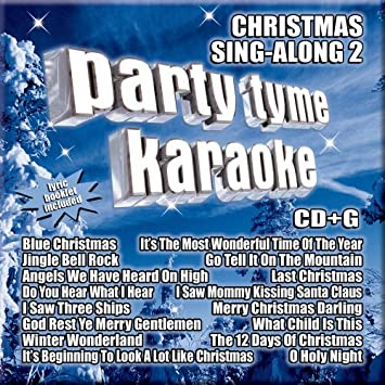 party tyme karaoke christmas sing along 2 16 song cdg - Blue Christmas Karaoke