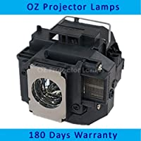 Original Bulb Inside Projector Lamp for EPSON ELPLP54 / V13H010L54 / EB-S7 / EB-S72 / EB-S8 / EB-S82 / EB-W7 / EB-W8…