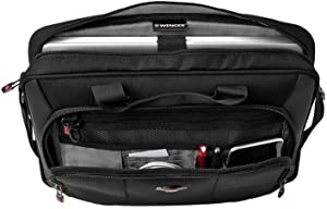 "SwissGear Luggage Platform 16"" Laptop Slimcase, Black, One Size"