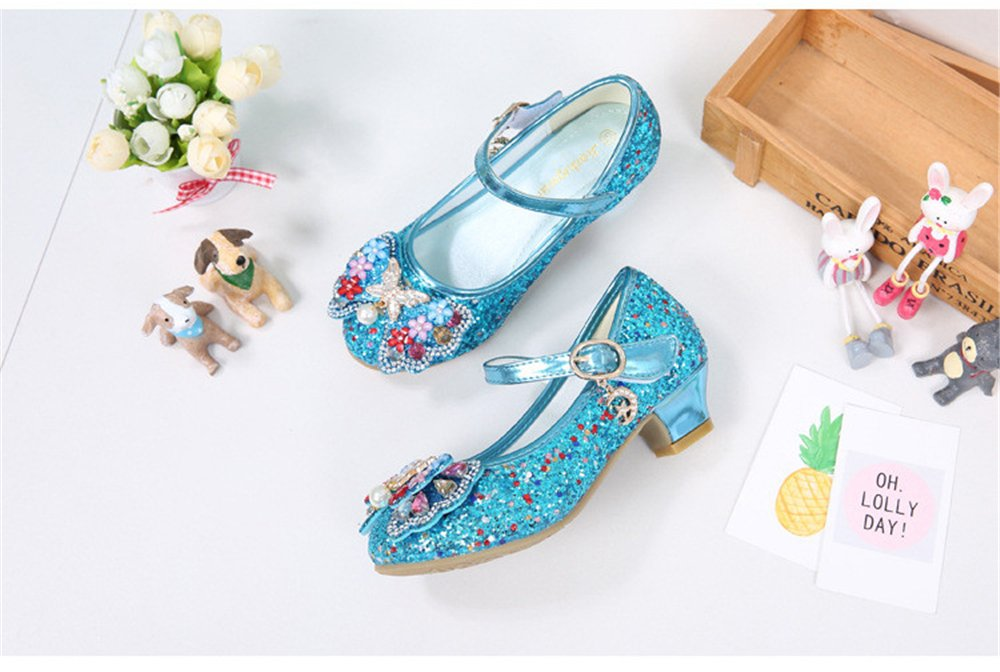 Men's/Women's Dress Shoes - Kids Girls Sparkling Sequin Princess Shoes Bowknot Mary Jane Bowknot Shoes Low Heel Shoes Louis, elaborate High quality and economy Highly appreciated and widely trusted in and out HA86571 840515