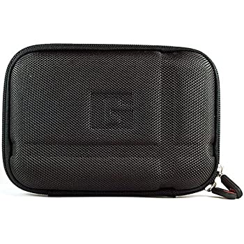 SumacLife Hard Shell Protective Case for Diabetic Organizer Carrying Case / Kit (Black)