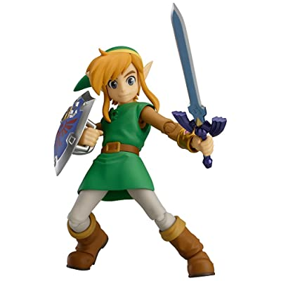 Max Factory The Legend of Zelda: A Link Between Worlds: Link Figma Action Figure: Toys & Games