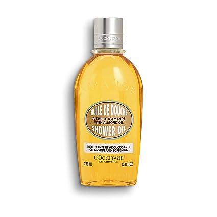 Amazon.com: LOccitane Aceite de ducha de almendra limpiador ...