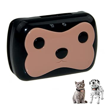 N. Oranie mascotas Monitor remoto impermeable Mini localizador Buscador de Seguimiento de GPS Tracker en