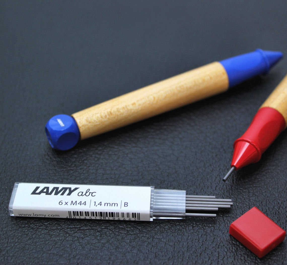 Lamy ABC 1.4 mm B leads 6xM44