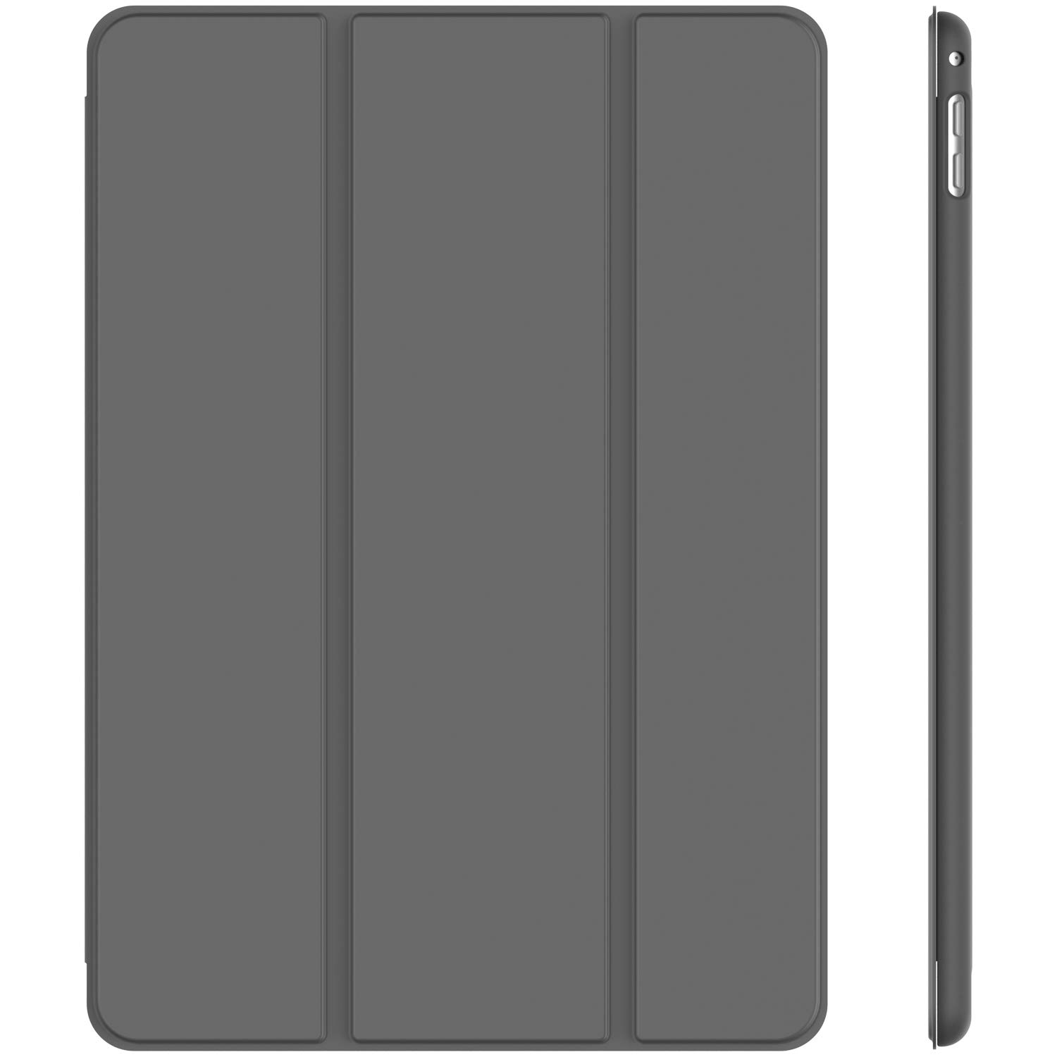 JETech Case for iPad Mini 4, Smart Cover with Auto Sleep/Wake, Dark Grey