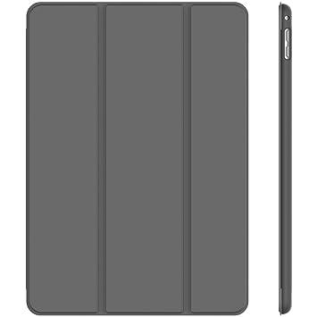 JETech 3285- Funda para iPad mini 4, Carcasa con Soporte Función, Auto-Sueño / Estela, Gris Oscuro