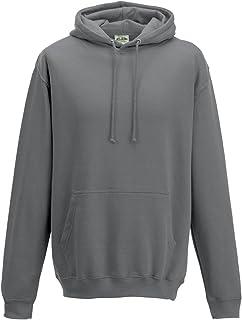 Just Hoods - Sweat-shirt à capuche -  Homme -  Gris - Gris acier - moyen penship JH001