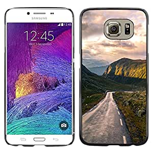 All Phone Most Case / Oferta Especial Duro Teléfono Inteligente PC Cáscara Funda Cubierta de proteccion Caso / Hard Case Samsung Galaxy S6 // Iconic Mountains