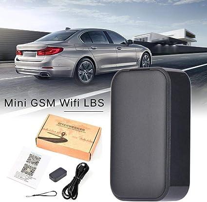 Rvest Auto Mini GPS gsm WiFi Tracker Grabador de Voz Localizador para Coche Vehículo Niño El Viejo Cartera Equipaje para Estudiantes: Amazon.es: Coche y moto