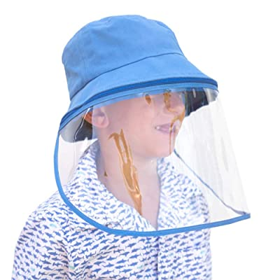 Adult Baseball Cap Outdoor With Removable Face Shield Protective Hat Summer Hat