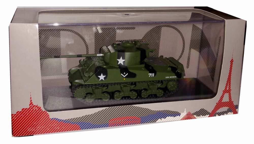 Odeon Char de Combat M4 Sherman US D/ébarquement en Normandie D-Day Juin 1944 au 1//43