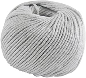 DMC Natura Hilo, 100% algodón, Color 12 Gris, tamaño Mediano: Amazon.es: Hogar
