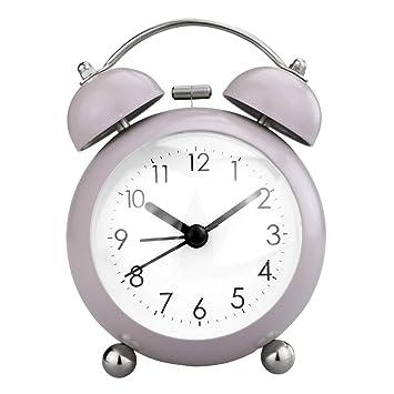 Amazon.com: PILIFE - Reloj despertador pequeño de 3 pulgadas ...