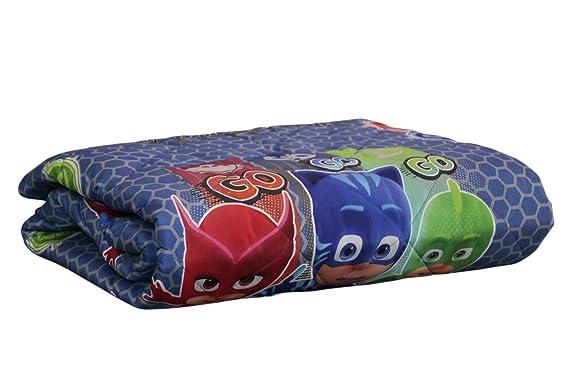 Colcha acolchada Primavera Verano Trapuntino de Verano original PJ MASKS cama individual Una 1 plaza cm 170 x 260: Amazon.es: Hogar