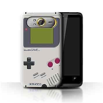 Carcasa/Funda STUFF4 dura para el HTC HD7 / serie: Consola de juegos - Nintendo game boy