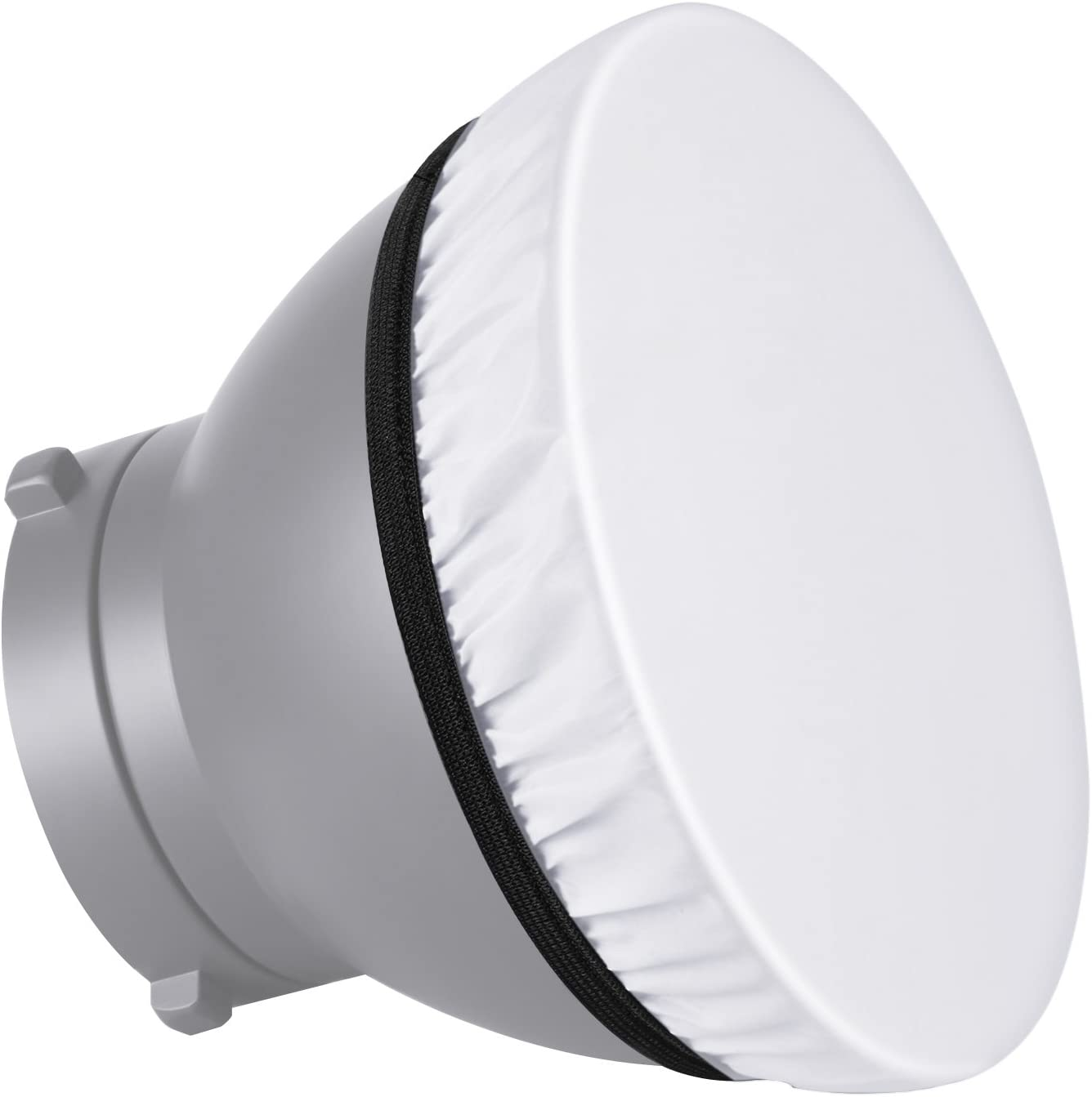 Fotoconic 7 to 11 Soft White Diffuser Sock for Standard Reflector//Sparkler Reflectors 2-Pack