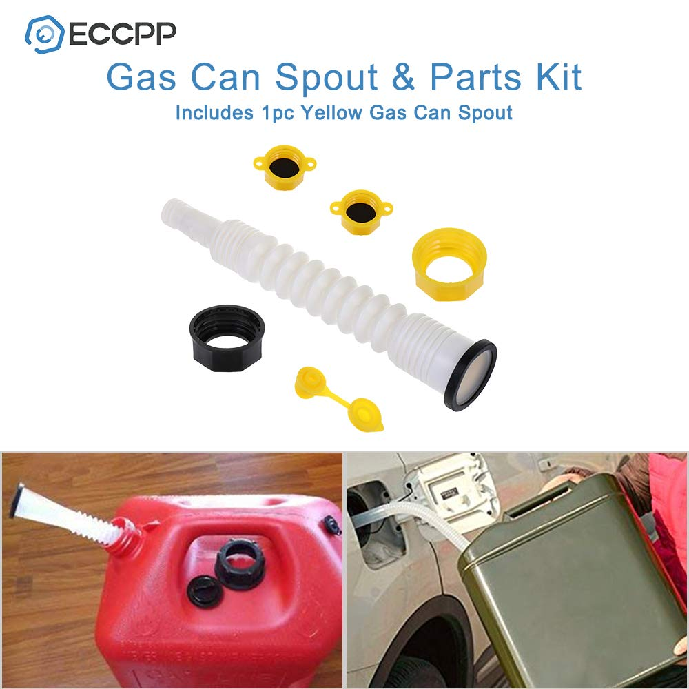 White Set ECCPP Replacement for Click Image to Open expanded View Combined 20050 Replacement Spout Water Jug or Gas Can Spout Update Your Old Can