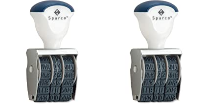 Sparco Date Stamper 4 Bands Size No11 2