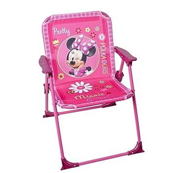 Disney - Chaise pliable pour enfant Minnie Mouse - Jardin Camping ...