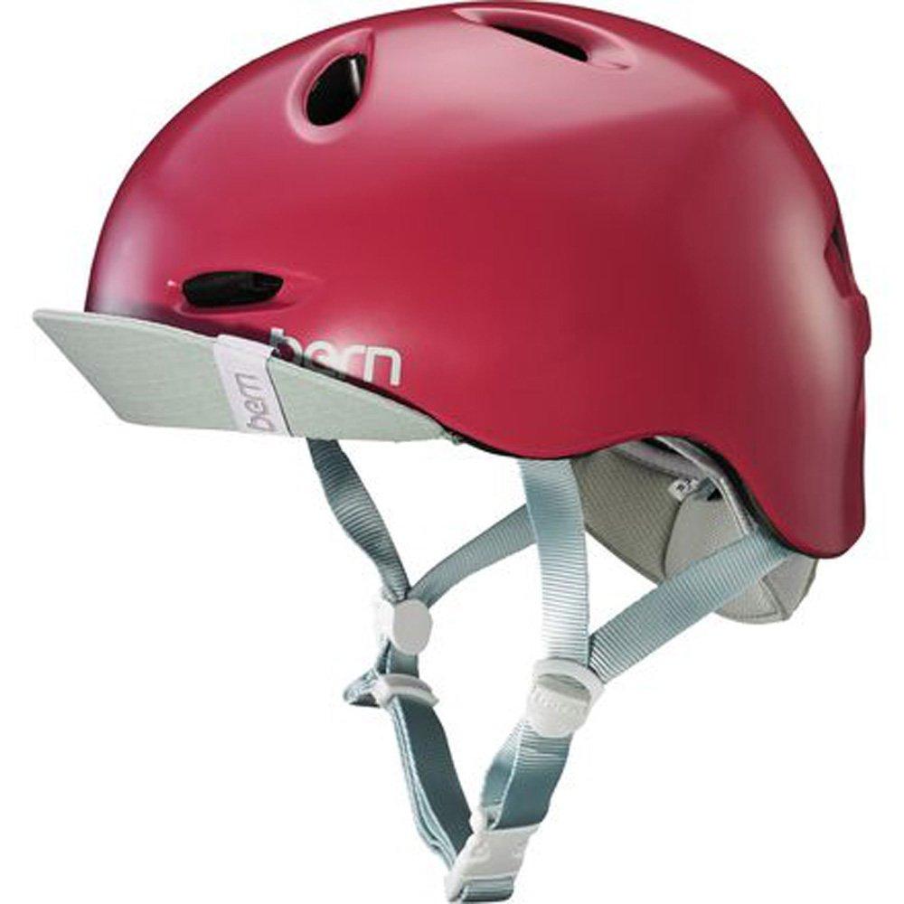 2017 Berkeley Helmet w/ Flip Visor (Satin Cranberry, XS/S)
