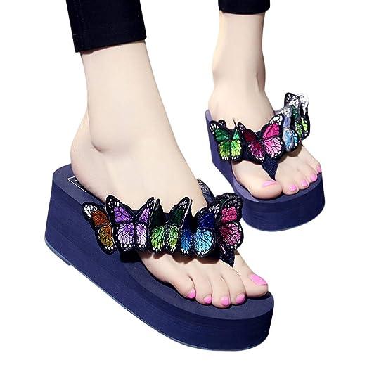 1b5259105db5 Amazon.com  Womens Wedges Flip Flops Sandals