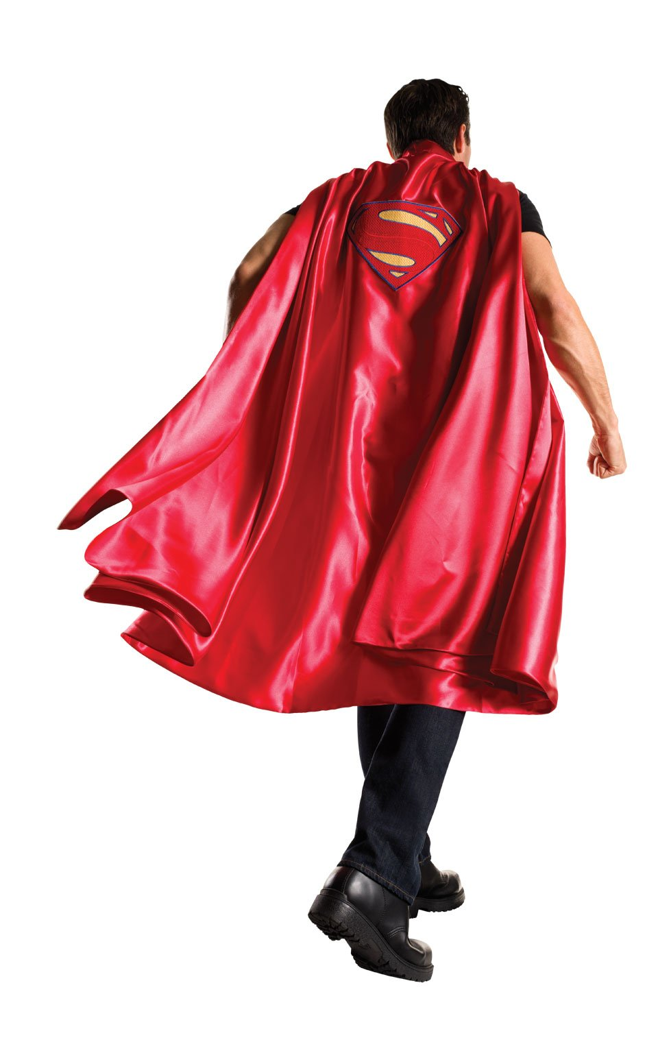 Rubie's Men's Batman V Superman: Dawn of Justice Deluxe Adult Superman Cape, Red, One Size