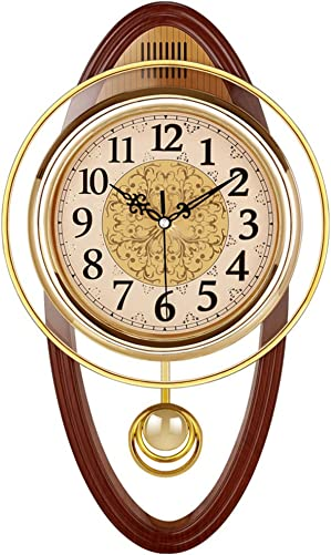 Retro Wall Swing Pendulum Clock