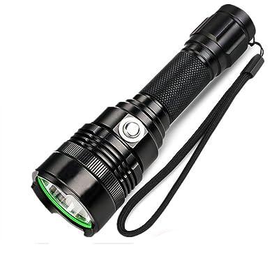 Éclairage Lampe De Poche Cadeau équitation D'extérieur LED De Charge (350 Lumens Noir Mat)